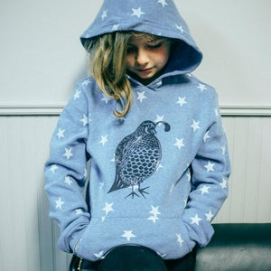 Cali Quail Youth Pullover Hoodie