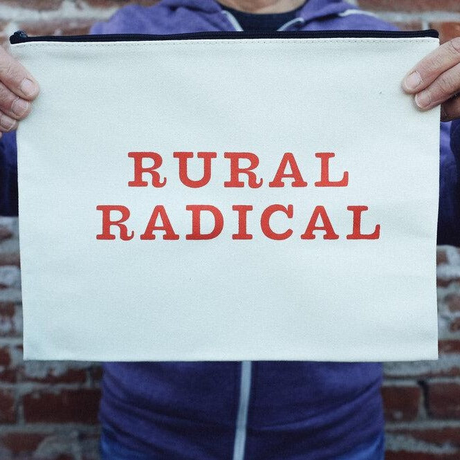 Rural Radical Zip Pouch (Large)
