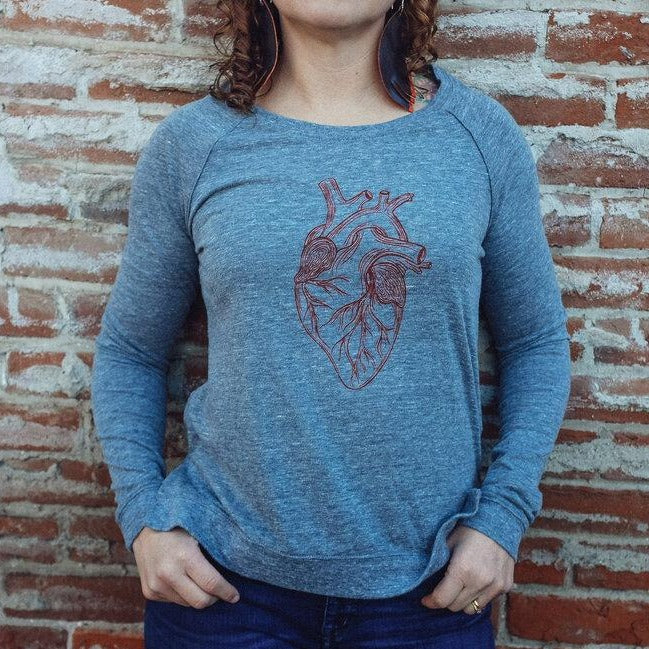 Big Heart Scoop Pullover