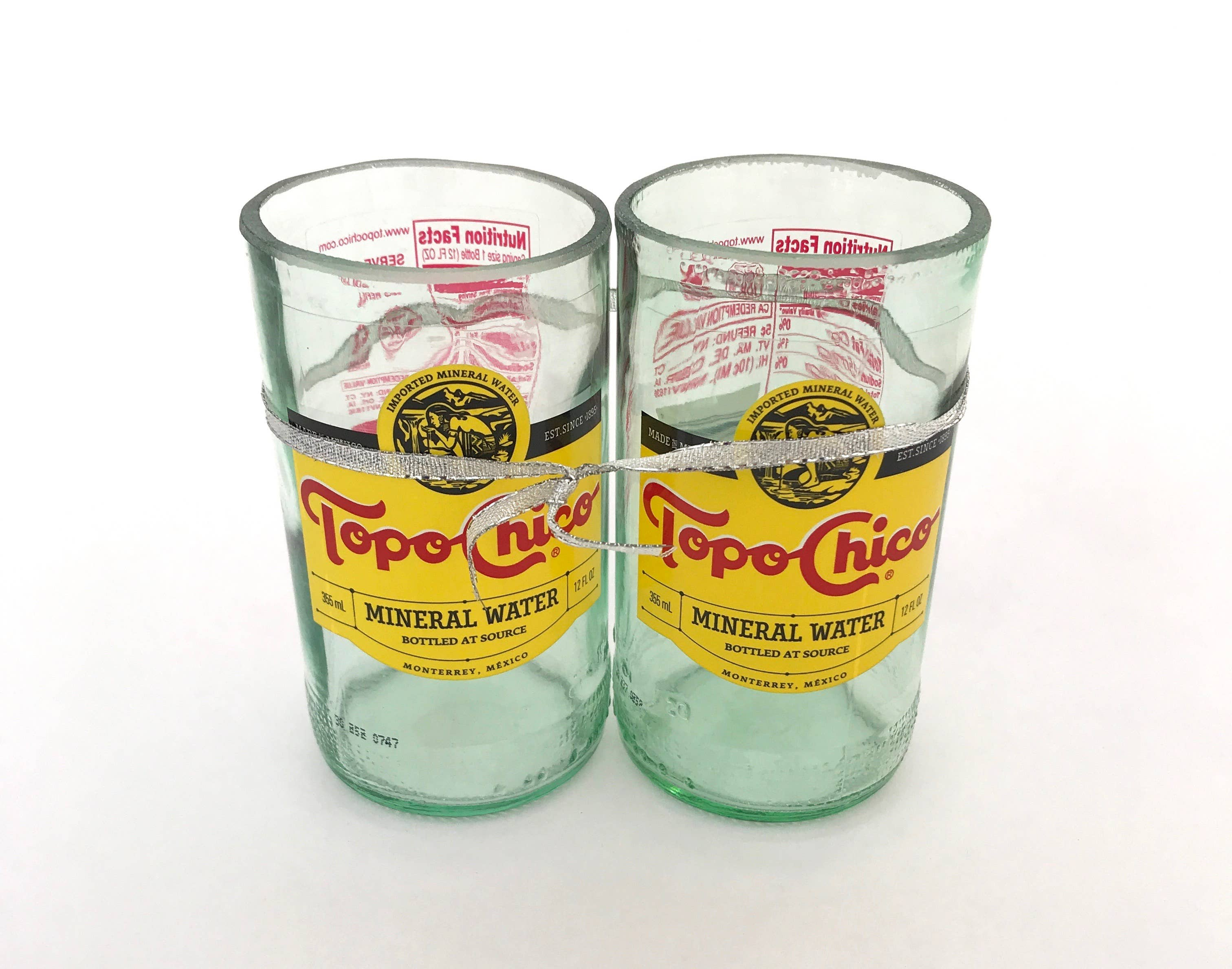 Topo Chico Upcycled Drinkware