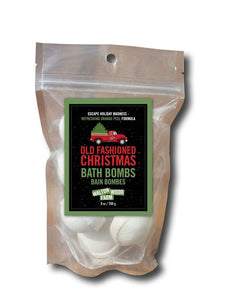 Old Fashioned Christmas Bath Bombs