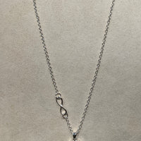 12MM INFINITY NECKLACE