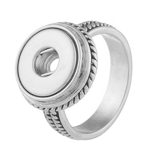 12MM RING WITH ROPE DESIGN