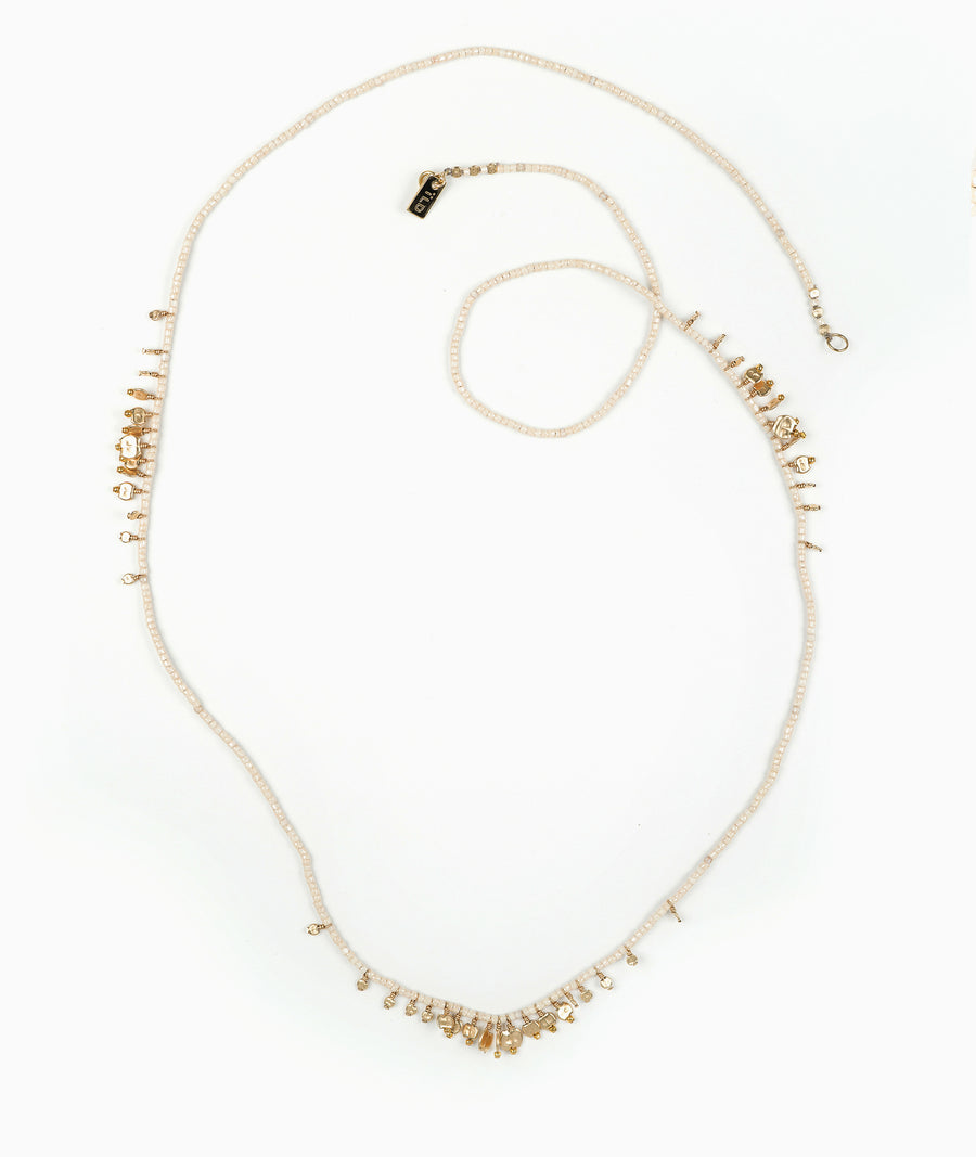Drift Cluster Long Necklace