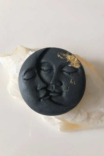 Mister Moon & Lady Sun Charcoal Soap