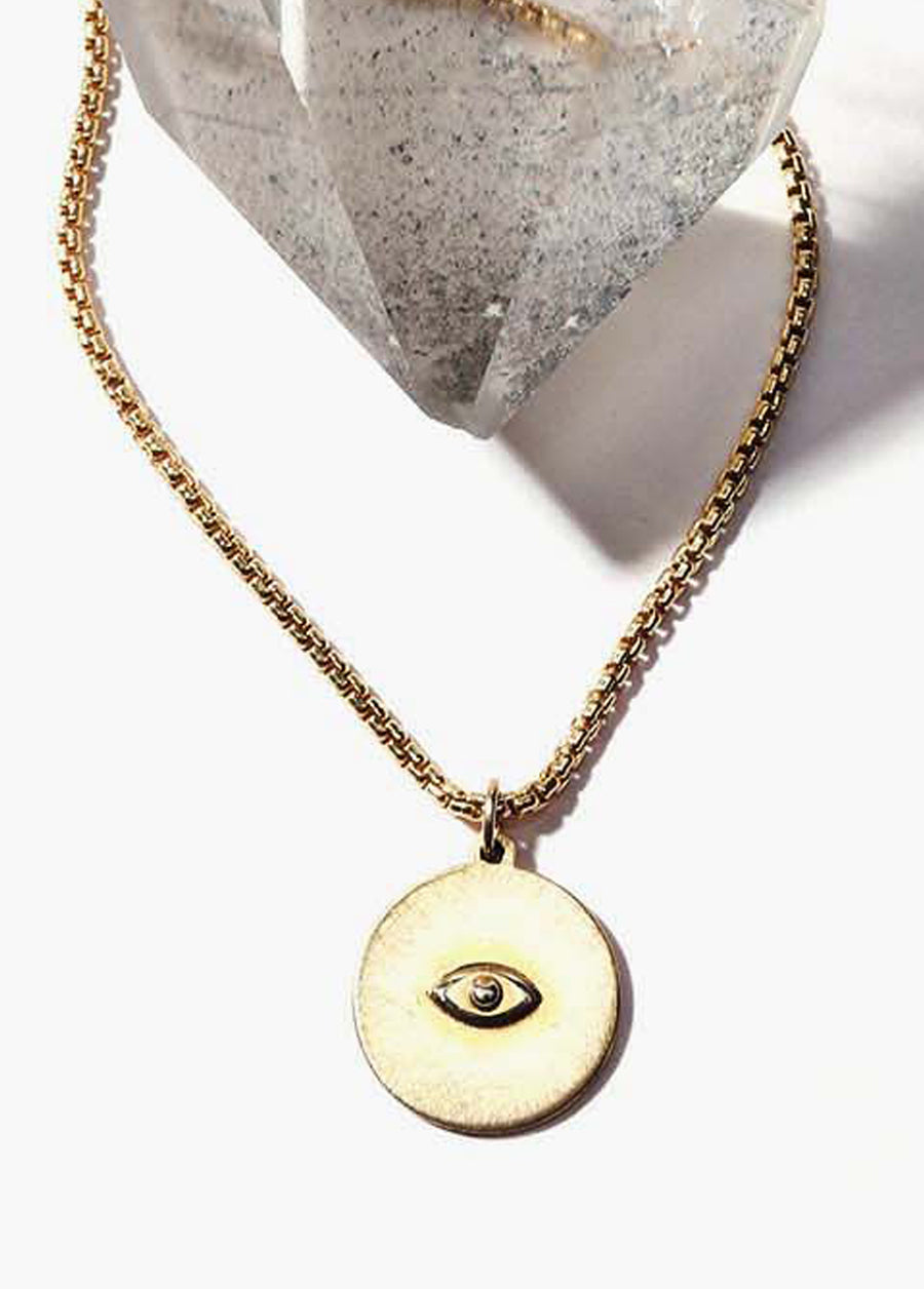 Sister Sun All Seeing Eye Necklace