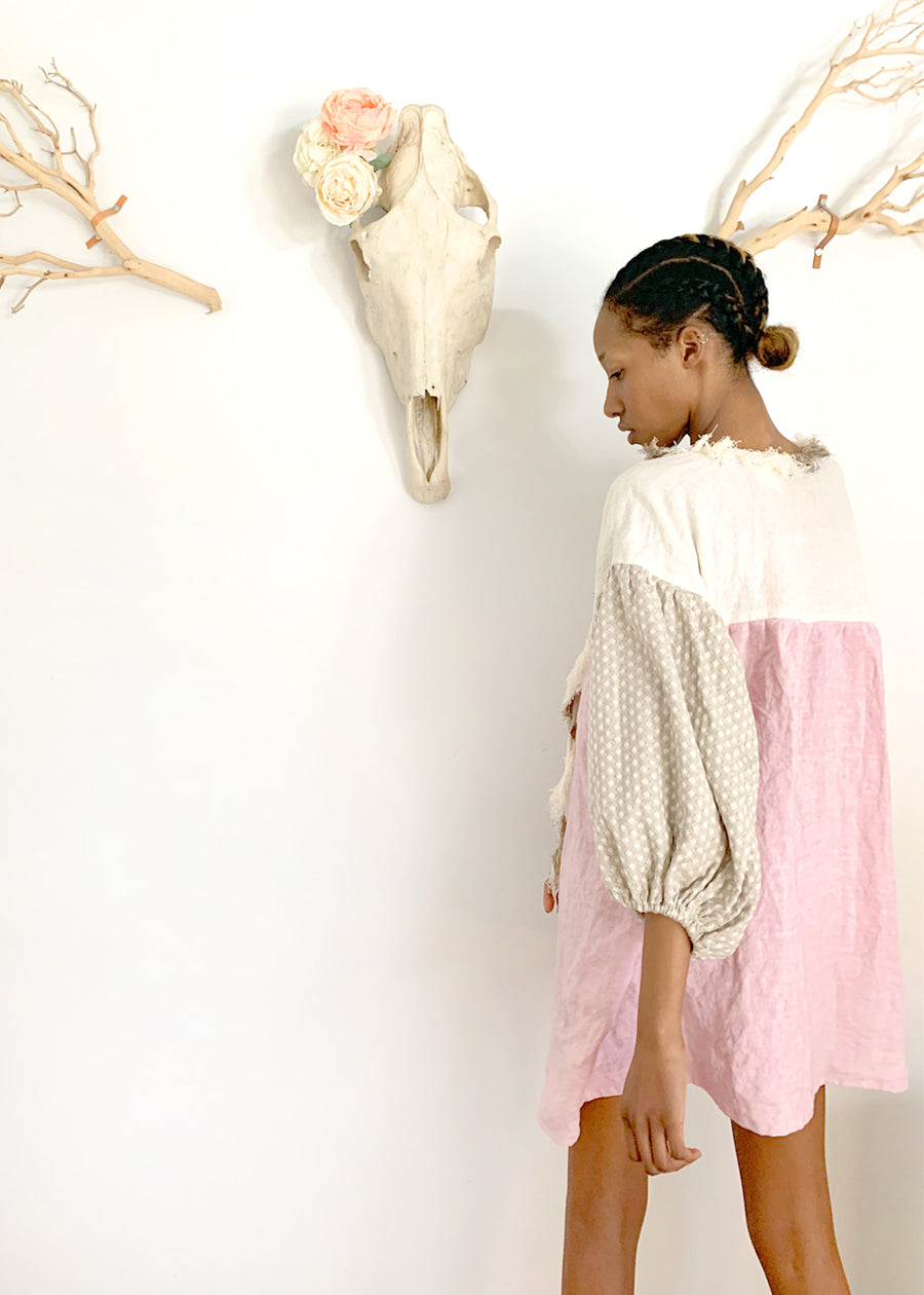 NinaLeuca Short Pink Dress  30% OFF AT CHECKOUT - $220.50