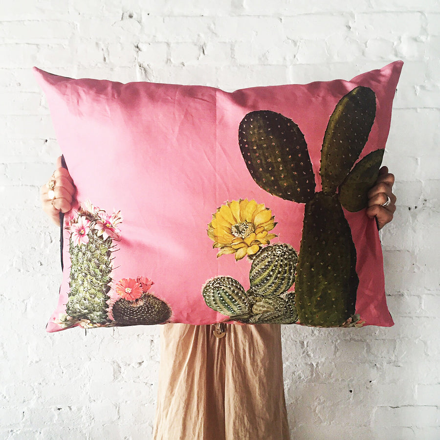 Totem Salvaged Cacti Pillow