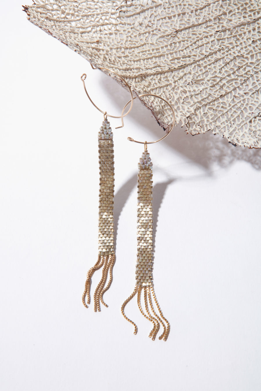 Serpent Drop Earrings