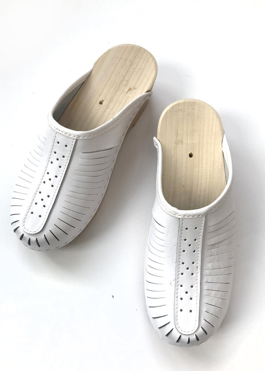 Clogs - White