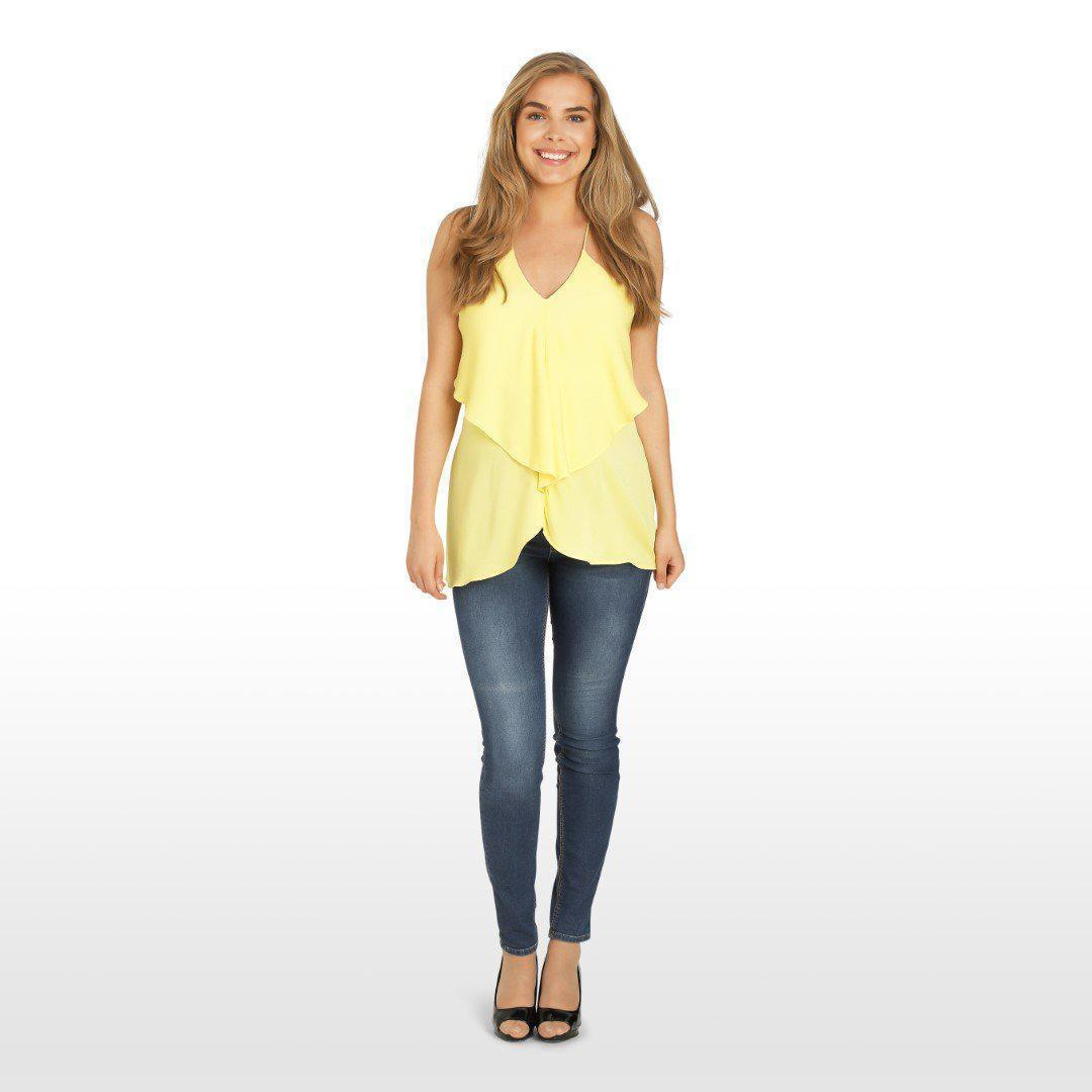 Image of   Hello Yellow top