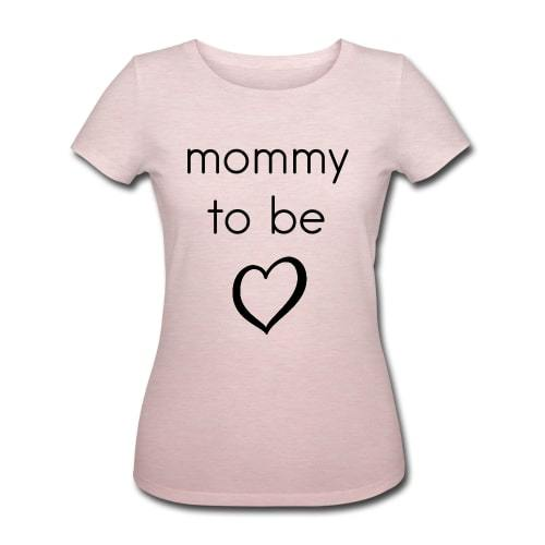 "Økologisk T-shirt - ""Mommy to be"" - Buump"