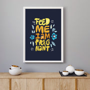 "Plakat ""Feed Me"" - Buump"
