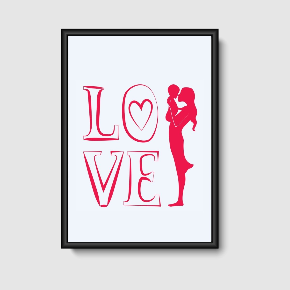 "Image of   Plakat ""LOVE"""