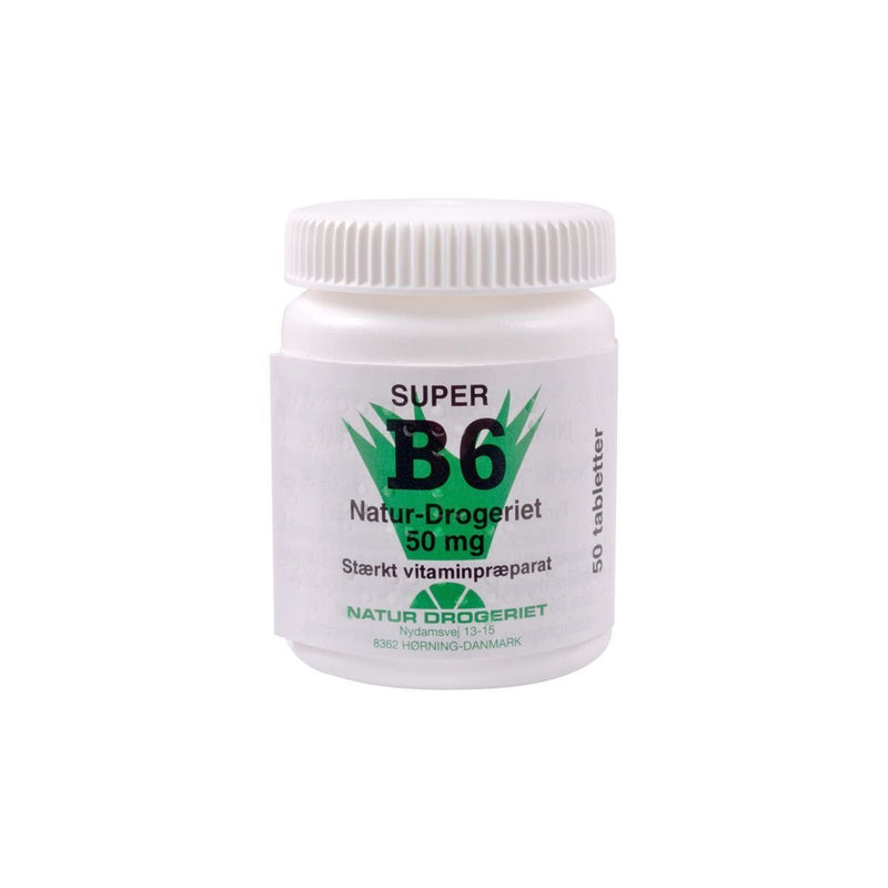 Super B6 vitamin 50 mg.  50 stk. - Buump