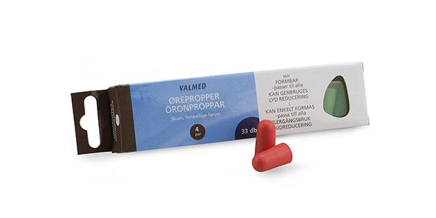 ValMed ørepropper, 4 par - Buump.com - Earplugs - Valmed