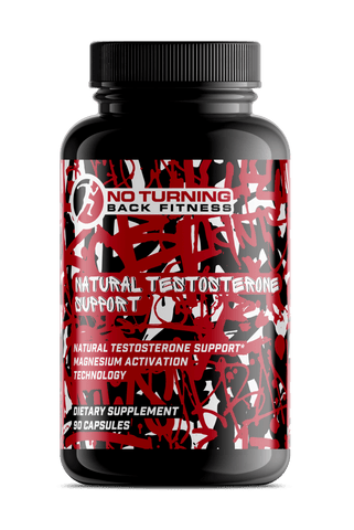 Natural Testosterone Support - No Turning Back Fitness