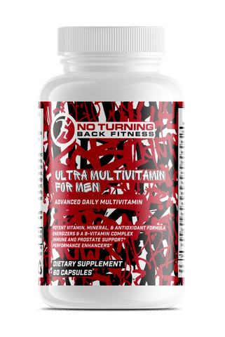 Ultra Multivitamin for Men - No Turning Back Fitness