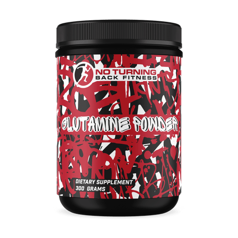 Glutamine Powder - No Turning Back Fitness