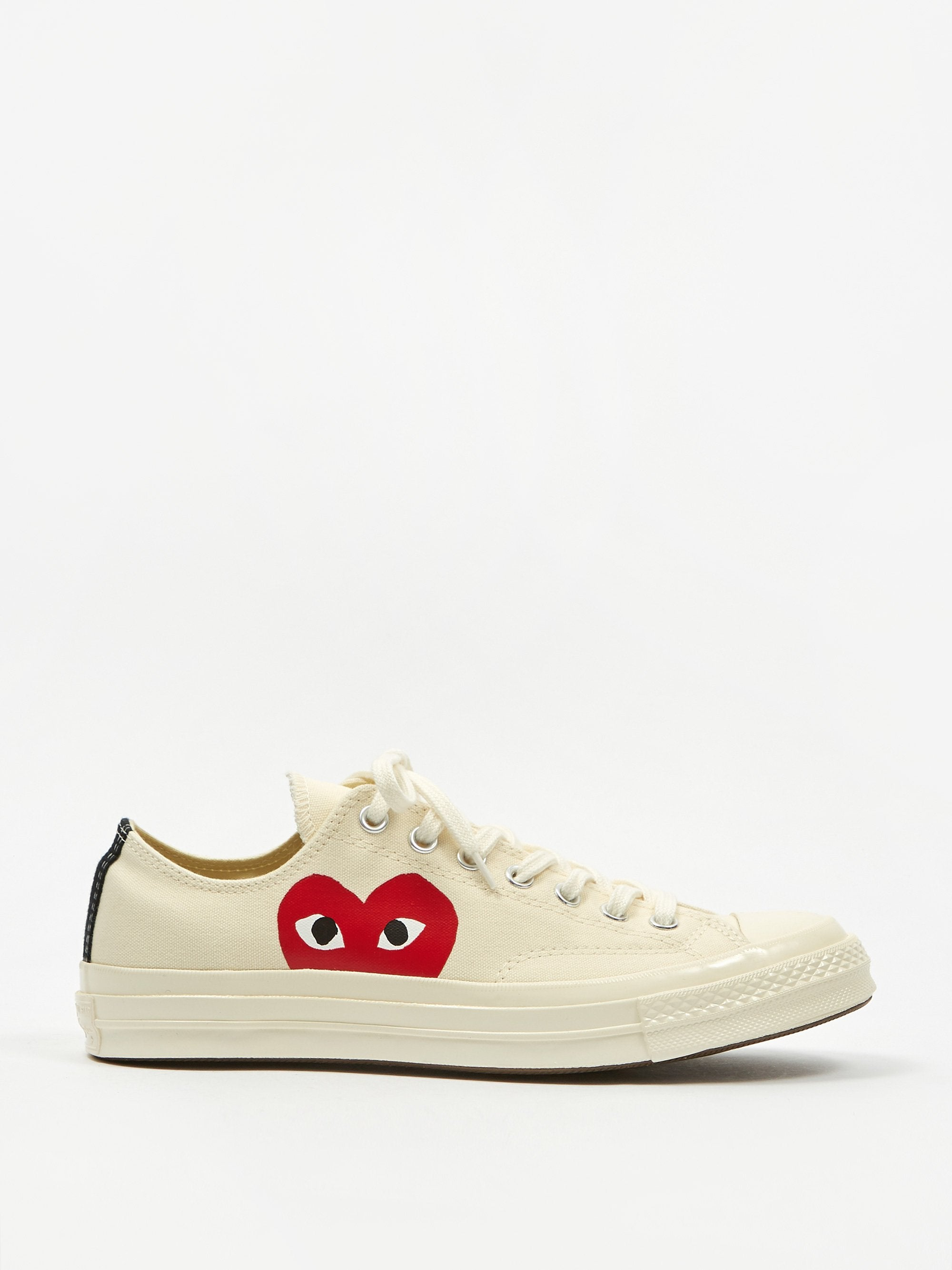 Comme des Garcons Play x Converse Chuck Taylor All Star 70 Ox - Beige