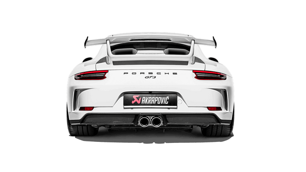 991 GT3 / GT3 RS Akrapovič Slip-On Race Line Exhaust