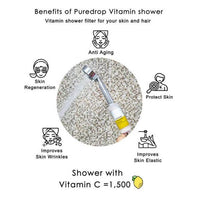 Puredrop Vitamin Shower Filter - Nourish Rose Scent
