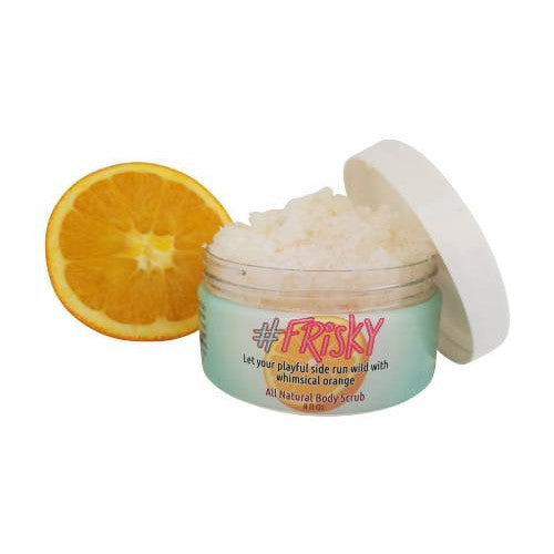 Body Scrub – #frisky (orange)