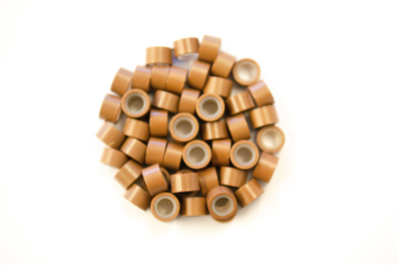Light Brown Silicone Beads