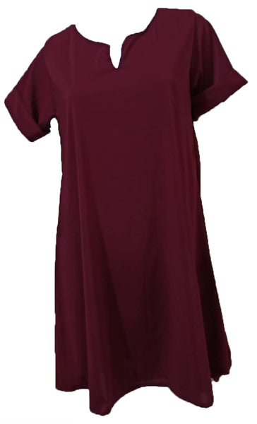 Meilleur Maroon Dress (XL) - #MMD