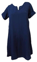 Meilleur Navy Blue Dress (M, XL & 2XL) - #MNBD