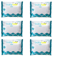 Unscented Baby Wipes 25's (6 packs)