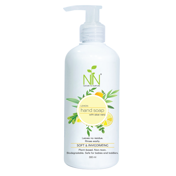 Nature to Nurture Lemon Hand Soap 300ml