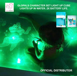 GLOPALS CHARACTER SET LIGHT UP CUBES (5 colors)