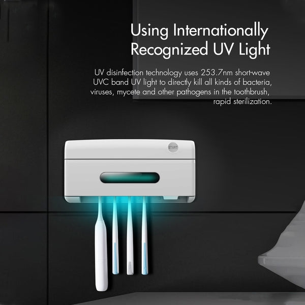 UV Family Toothbrush Sterilizer