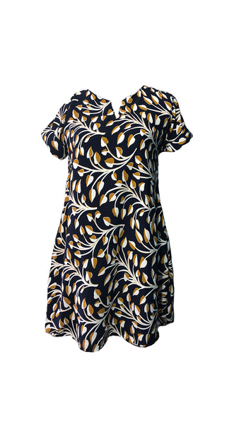 Meilleur Navy Blue Modern Dress (M) - #MNBMD