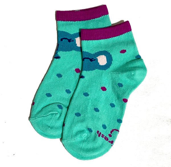 Biofresh Socks LT GREEN (6-12 mos) 1 pair RIGC9101