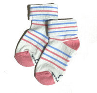 Biofresh Socks Girl Socks 6 designs (0-6 mos) 1 pair RIGC9103