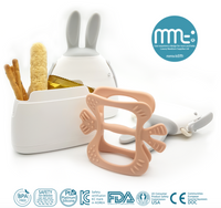 Mama's TEM NaBi Monster Premium Teether + Bunny Case