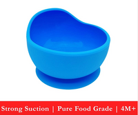 Silicone Weaning Bowl (4 colors)