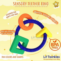 Sensory Teether Ring ( 2 colors)
