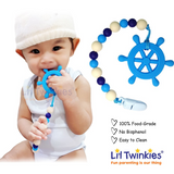 Teether w/ Clip-on (14 designs)