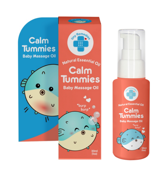 Tiny Buds Calm Tummies Natural Colic Relief Oil