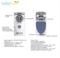 Babybee Portable Nebulizer