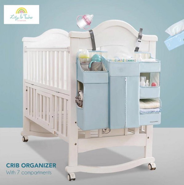 Lily and Tucker Crib Organizer