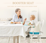 BOOSTER SEAT (3 in 1 HIGHCHAIR)- Blue or Orange