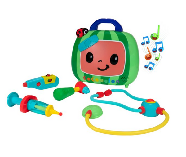 COCOMELON Roleplay Musical Checkup Case (4PC with Sound)