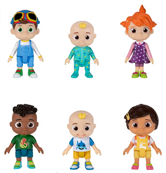 Cocomelon Friends & Family 6 Figure Pack