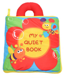 My Quiet Book Activity and Educational Cloth Book for Baby: Baby Peekaboo