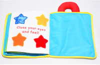 My Quiet Book Activity and Educational Cloth Book for Baby: Bee My Friend