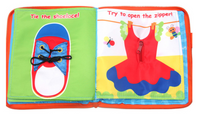 My Quiet Book Activity and Educational Cloth Book for Baby: My Lovely Book